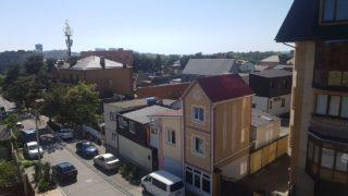 фотография с балкона на Колхозной