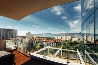 Вид с балкона Геленджик
