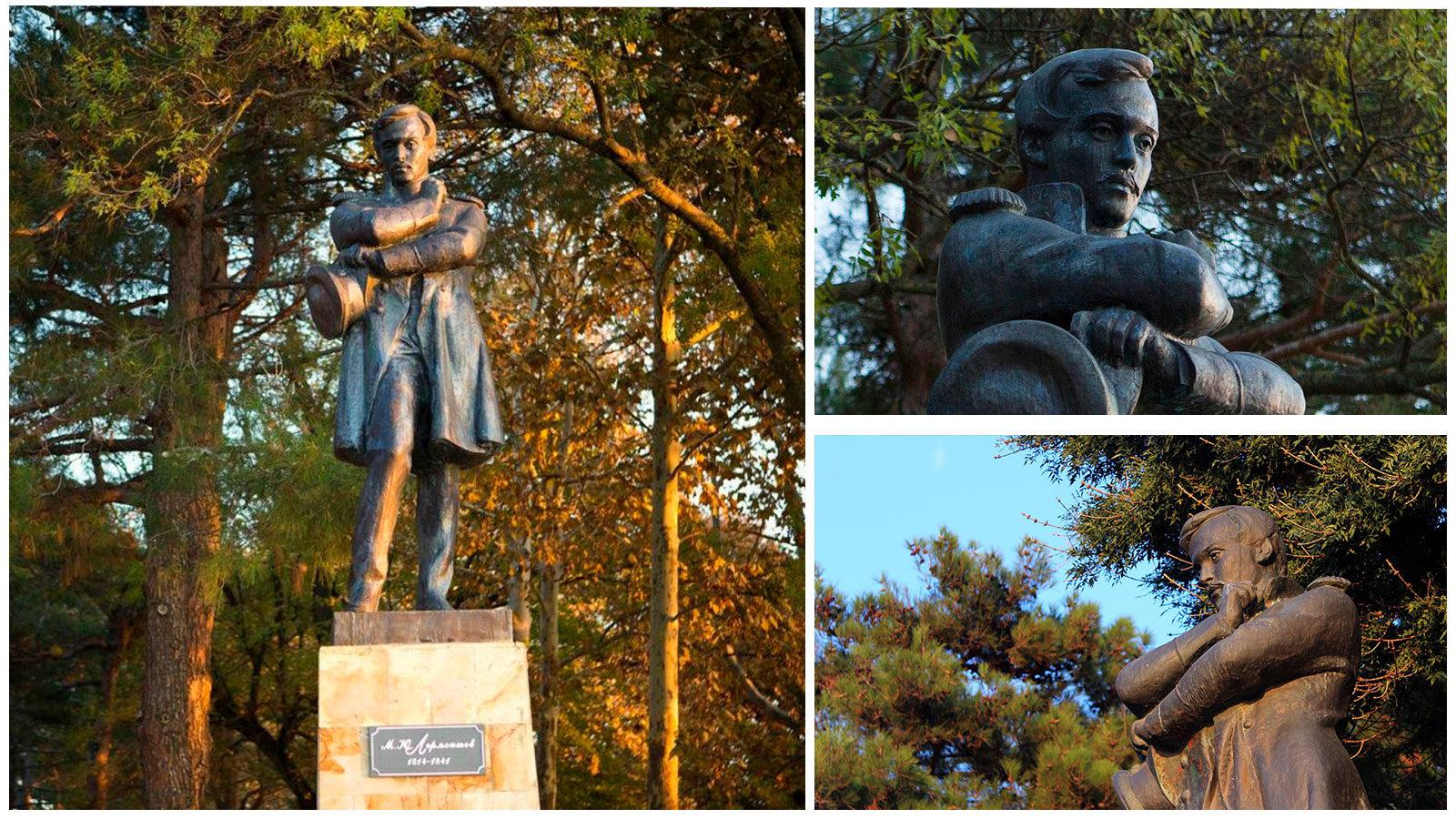 Памятник-Лермонтову