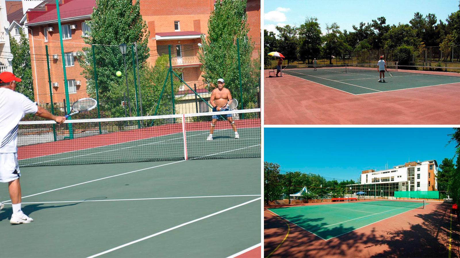 Теннисные-корты-в-Геленджике